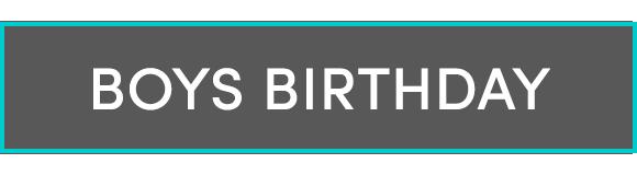 Boys Birthdays