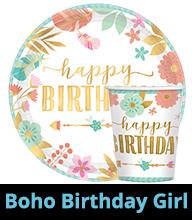 Boho Birthday Girl Party