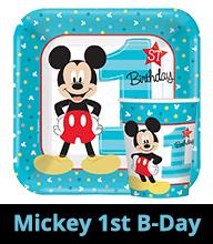 Mickey's 1st Birthday Party